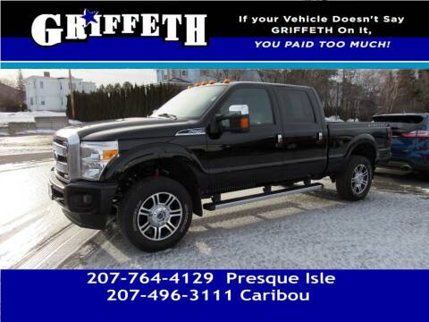 2016 Ford F-250 Super Duty for sale at Griffeth Mitsubishi - Pre-owned in Caribou ME