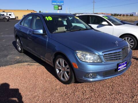 2010 Mercedes-Benz C-Class for sale at SPEND-LESS AUTO in Kingman AZ