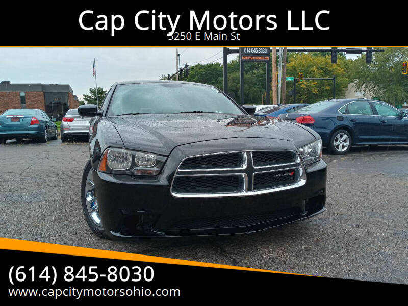 2013 Dodge Charger for sale at Cap City Motors LLC in Columbus OH