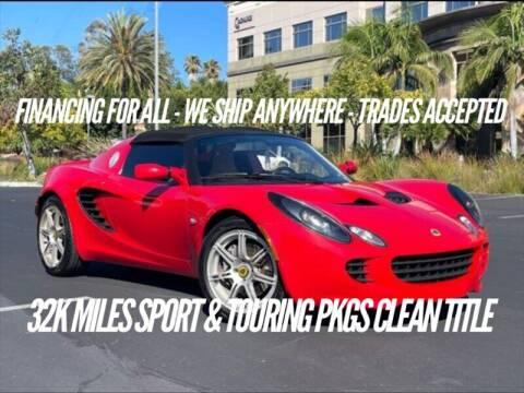 2005 Lotus Elise for sale at Auto Advantage in Escondido CA
