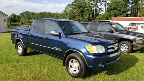 2004 Toyota Tundra for sale at Lakeview Auto Sales LLC in Sycamore GA