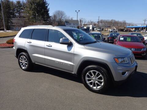 2014 Jeep Grand Cherokee for sale at BETTER BUYS AUTO INC in East Windsor CT