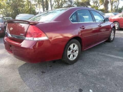 2009 Chevrolet Impala for sale at JacksonvilleMotorMall.com in Jacksonville FL