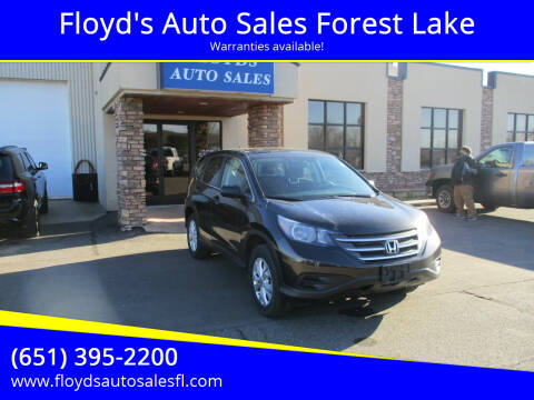 2013 Honda CR-V for sale at Floyd's Auto Sales Forest Lake in Forest Lake MN