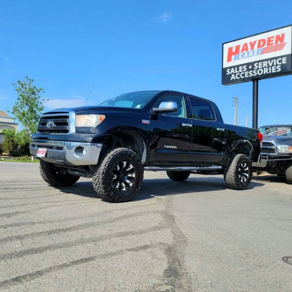 2012 Toyota Tundra for sale at Hayden Cars in Coeur D Alene ID