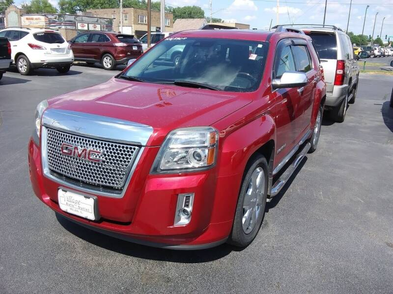 2014 GMC Terrain for sale at Village Auto Outlet in Milan IL