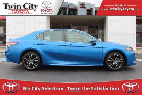 2018 Toyota Camry for sale at Twin City Toyota in Herculaneum MO