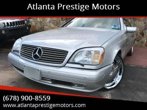 1998 Mercedes-Benz CL-Class for sale at Atlanta Prestige Motors in Decatur GA