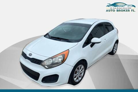 2012 Kia Rio 5-Door for sale at INTERNATIONAL AUTO BROKERS INC in Hollywood FL