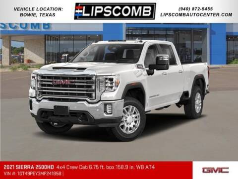 2021 GMC Sierra 2500HD for sale at Lipscomb Auto Center in Bowie TX