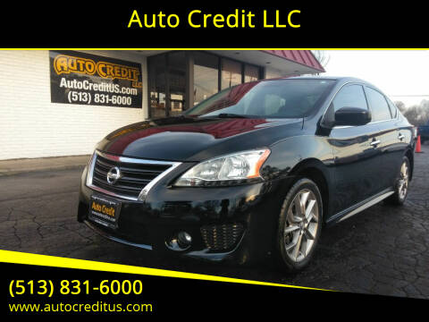 2013 Nissan Sentra for sale at Auto Credit LLC in Milford OH