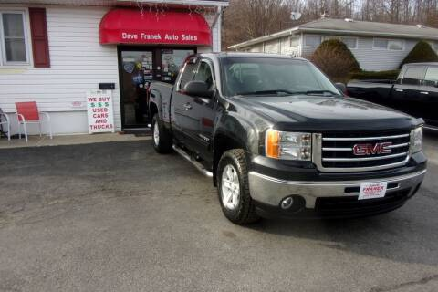 2012 GMC Sierra 1500 for sale at Dave Franek Automotive in Wantage NJ
