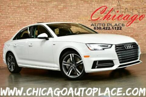 2017 Audi A4 for sale at Chicago Auto Place in Bensenville IL