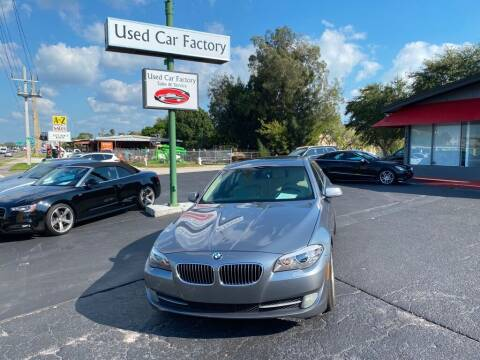 2011 BMW 5 Series for sale at Used Car Factory Sales & Service in Bradenton FL
