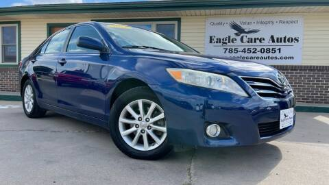 2011 Toyota Camry for sale at Eagle Care Autos in Mcpherson KS
