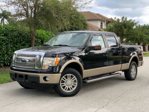 2012 Ford F-150 for sale at Citywide Auto Group LLC in Pompano Beach FL