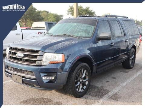 2017 Ford Expedition EL for sale at BARTOW FORD CO. in Bartow FL