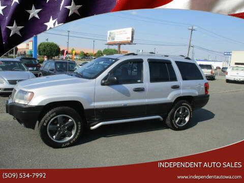 2004 Jeep Grand Cherokee for sale at Independent Auto Sales #2 in Spokane WA