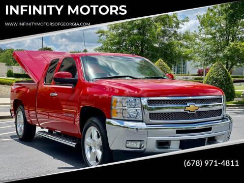 2012 Chevrolet Silverado 1500 for sale at INFINITY MOTORS in Gainesville GA