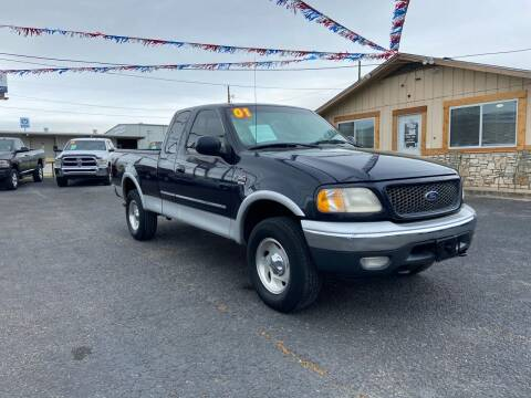 2001 Ford F-150 for sale at The Trading Post in San Marcos TX