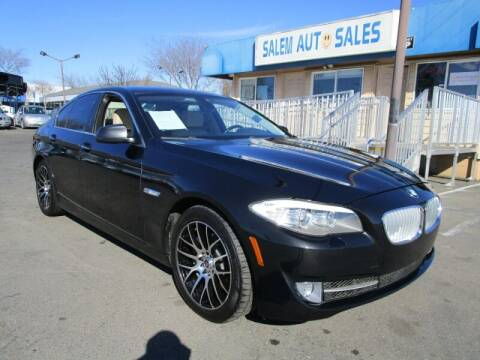2011 BMW 5 Series for sale at Salem Auto Sales in Sacramento CA