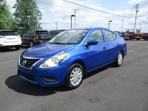 2016 Nissan Versa for sale at FINAL DRIVE AUTO SALES INC in Shippensburg PA