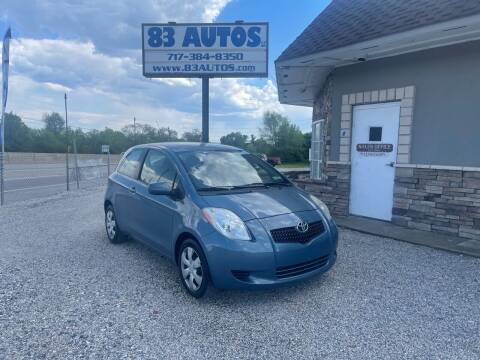 2007 Toyota Yaris for sale at 83 Autos in York PA