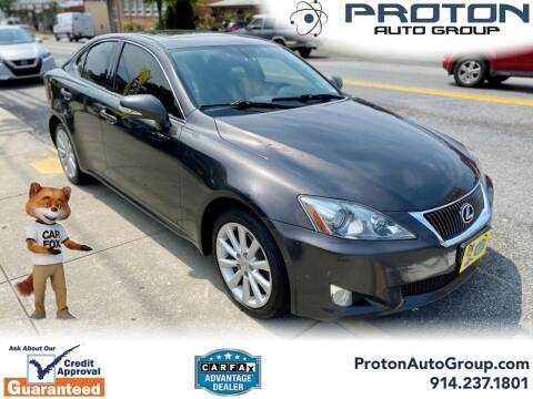 2010 Lexus IS 250 for sale at Proton Auto Group in Yonkers NY