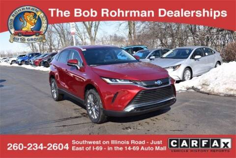 2021 Toyota Venza for sale at BOB ROHRMAN FORT WAYNE TOYOTA in Fort Wayne IN