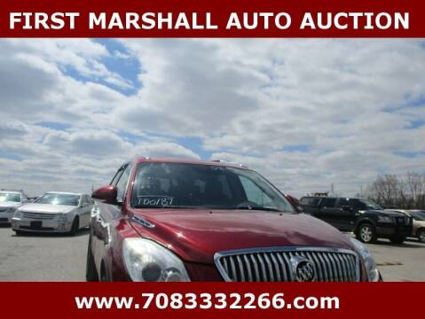 2008 Buick Enclave for sale at First Marshall Auto Auction in Harvey IL