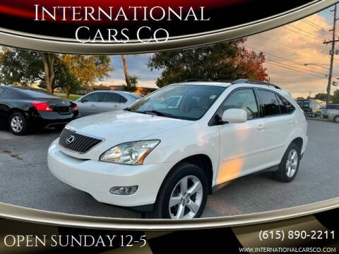 2007 Lexus RX 350 for sale at International Cars Co in Murfreesboro TN