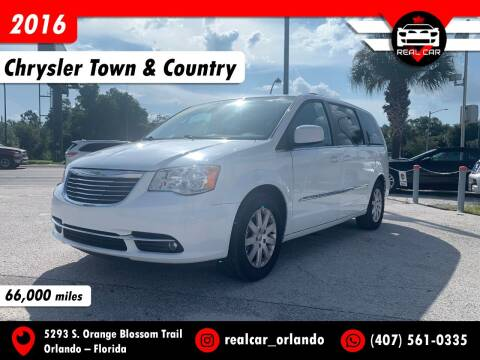 2016 Chrysler Town and Country for sale at Real Car Sales in Orlando FL