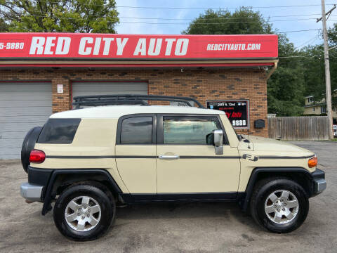 2008 Toyota FJ Cruiser for sale at Red City  Auto in Omaha NE
