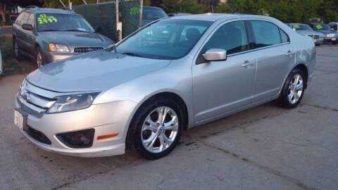 2012 Ford Fusion for sale at Carspot Auto Sales in Sacramento CA