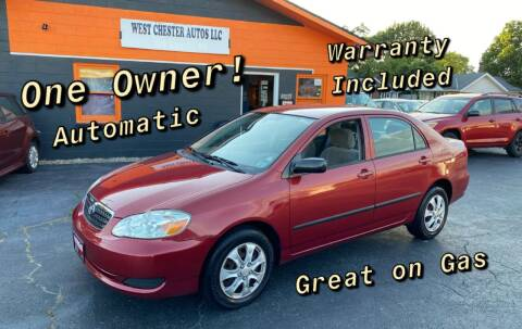 2006 Toyota Corolla for sale at West Chester Autos in Hamilton OH
