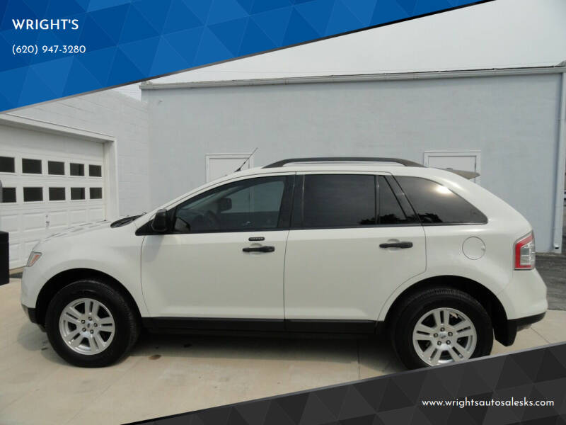 2010 Ford Edge for sale at WRIGHT'S in Hillsboro KS