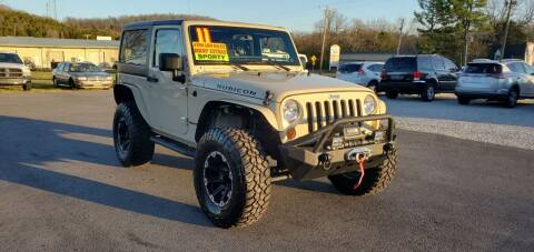 2011 Jeep Wrangler for sale at Jacks Auto Sales in Mountain Home AR