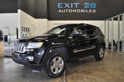 2012 Jeep Grand Cherokee for sale at Exit 28 Auto Center LLC in Cornelius NC