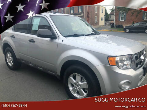 2011 Ford Escape for sale at Sugg Motorcar Co in Boyertown PA