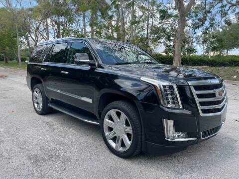 2019 Cadillac Escalade for sale at DELRAY AUTO MALL in Delray Beach FL