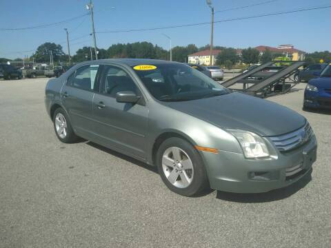 2006 Ford Fusion for sale at Kelly & Kelly Supermarket of Cars in Fayetteville NC