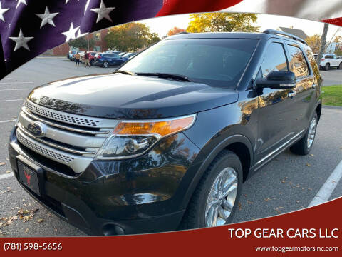 2015 Ford Explorer for sale at Top Gear Cars LLC in Lynn MA