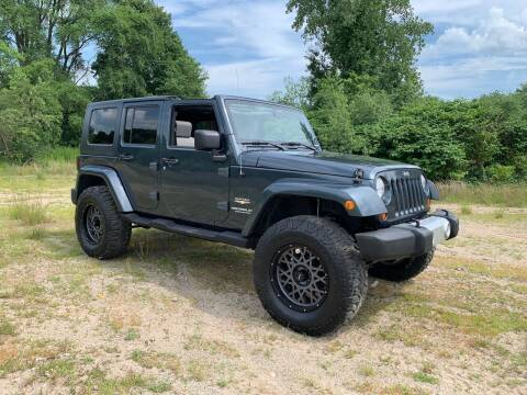 2008 Jeep Wrangler Unlimited for sale at Fournier Auto and Truck Sales in Rehoboth MA