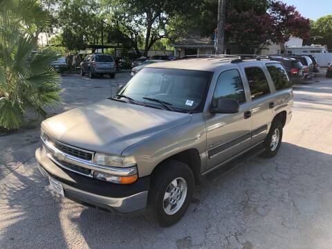 2003 Chevrolet Tahoe for sale at Approved Auto Sales in San Antonio TX