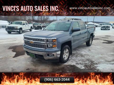 2015 Chevrolet Silverado 1500 for sale at Vinci's Auto Sales Inc. in Bessemer MI