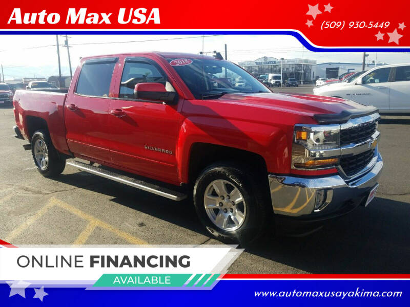 2018 Chevrolet Silverado 1500 for sale at Auto Max USA in Yakima WA