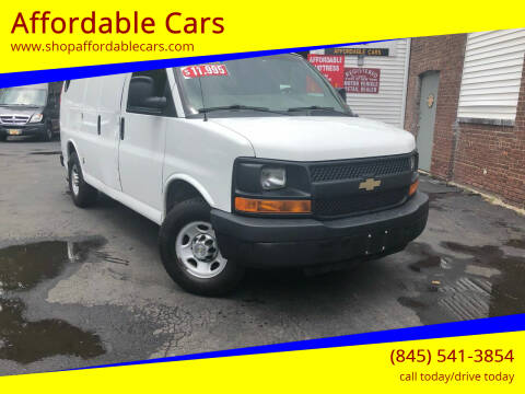 2014 Chevrolet Express Cargo for sale at Affordable Cars in Kingston NY
