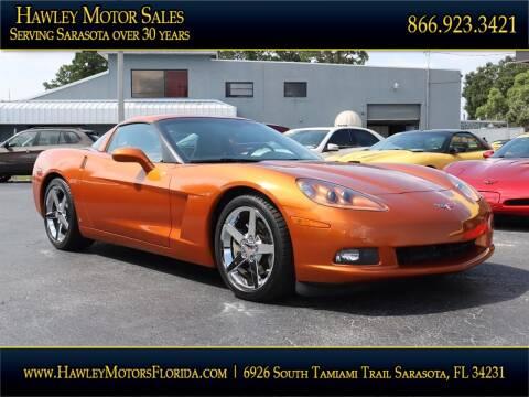 2007 Chevrolet Corvette for sale at Hawley Motor Sales in Sarasota FL