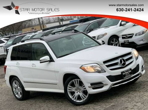 2015 Mercedes-Benz GLK for sale at Star Motor Sales in Downers Grove IL