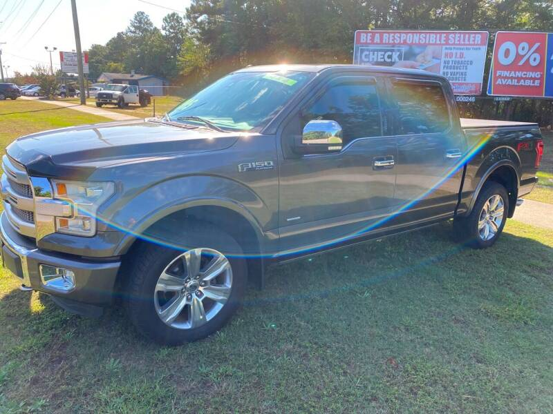 2015 Ford F-150 for sale at TOP OF THE LINE AUTO SALES in Fayetteville NC